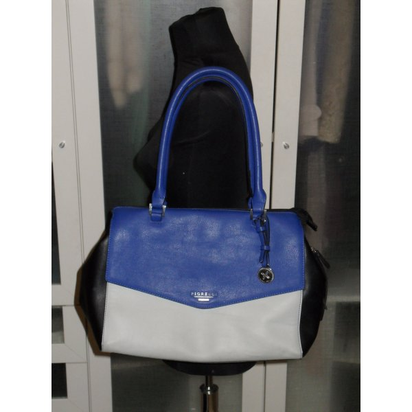 FIORELLI Tasche in colour blocking blau/grau/schwarz
