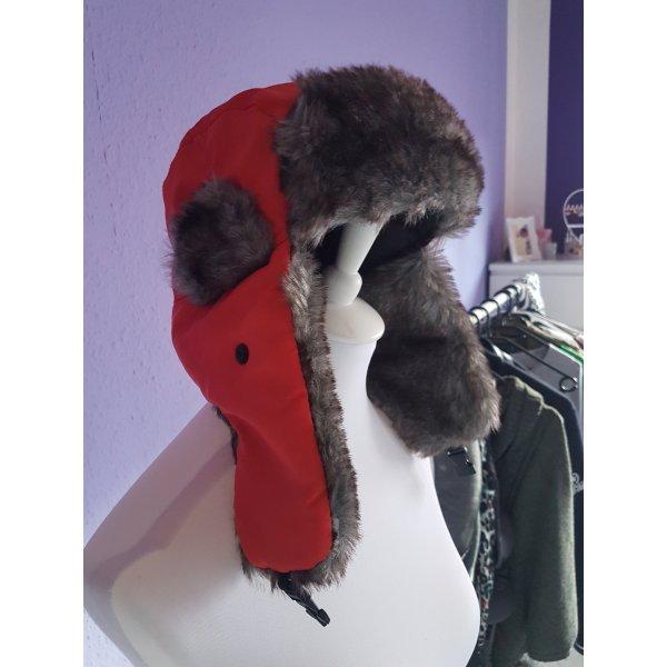 Fliegermütze Fake Fur Mütze
