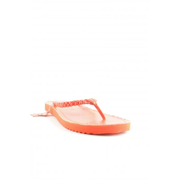 Flip*flop Flip Flop Sandalen dunkelorange Beach-Look