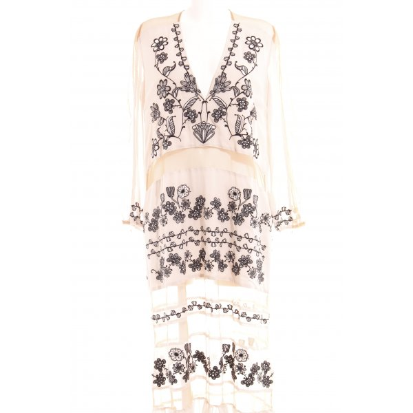 For Love & Lemons Maxikleid Blumenmuster Romantik-Look