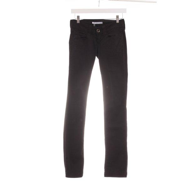 Fornarina Pantalone cinque tasche nero stile casual