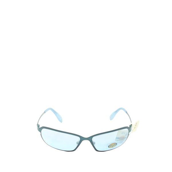 Fossil Retro Brille blau Motivdruck Casual-Look