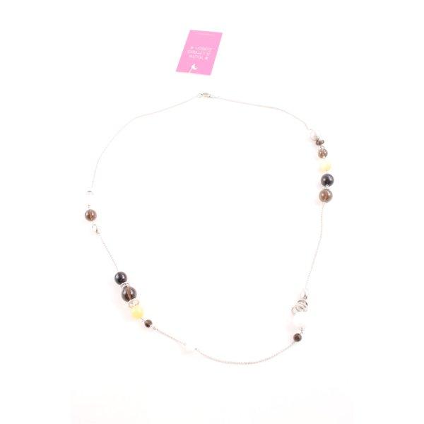 Fossil Halskette mehrfarbig Casual-Look