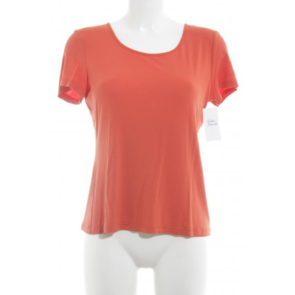 FOX'S T-Shirt dunkelorange Casual-Look