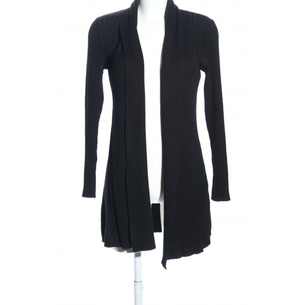 Fransa Cardigan schwarz Business-Look