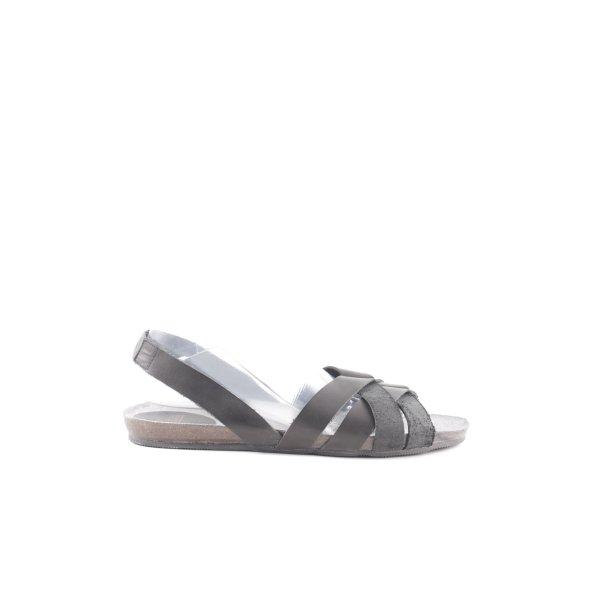 Fred de la bretoniere Sandales à lanière gris clair style décontracté