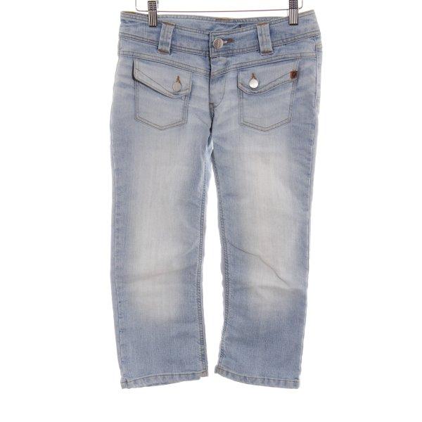 Freesoul 3/4 Jeans hellblau Street-Fashion-Look