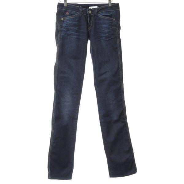 Freesoul Skinny Jeans dunkelblau Casual-Look