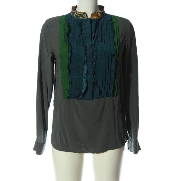 Frida Langarm-Bluse