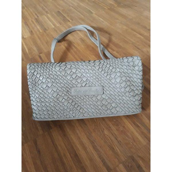 Fritzi aus preußen Crossbody bag silver-colored synthetic material