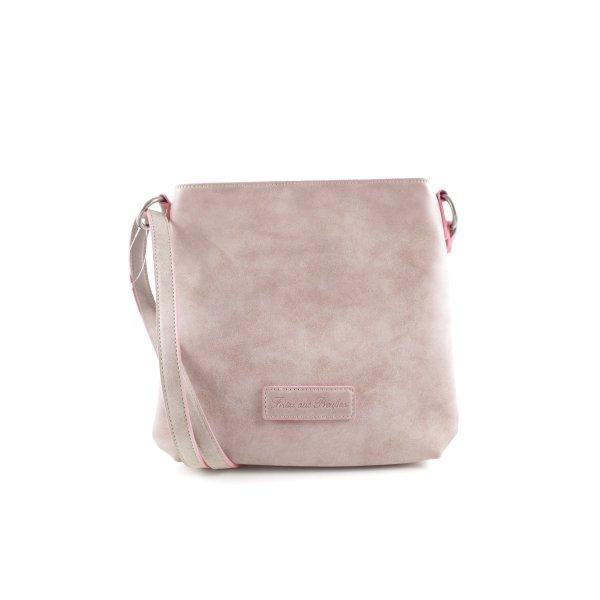 Fritzi aus preußen Crossbody bag pink-natural white business style