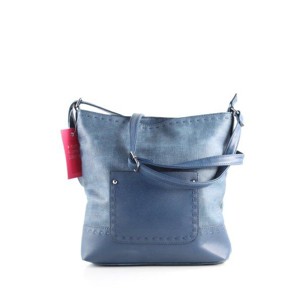 G!na Umhängetasche blau Casual-Look