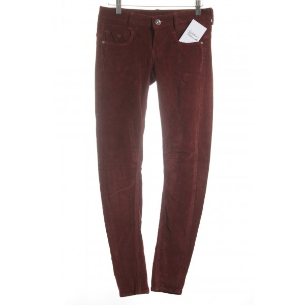 G-Star Five-Pocket Trousers bordeaux simple style