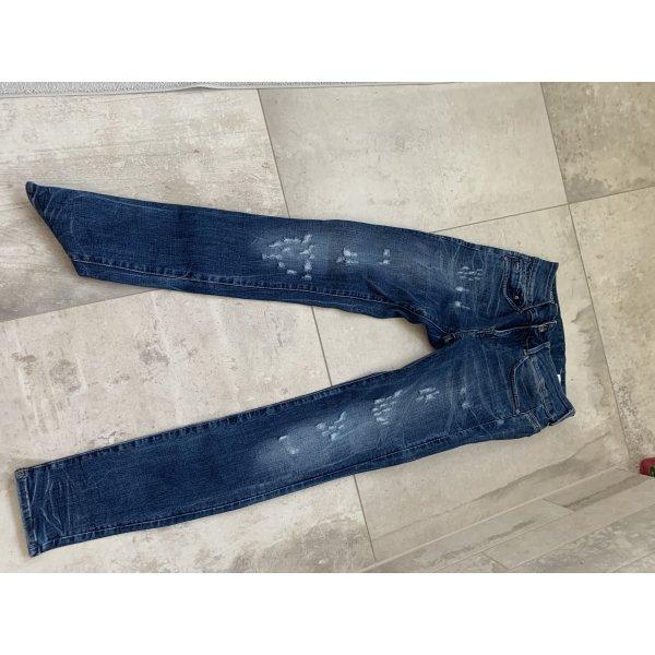 G-Star Jeansy rurki stalowy niebieski Denim