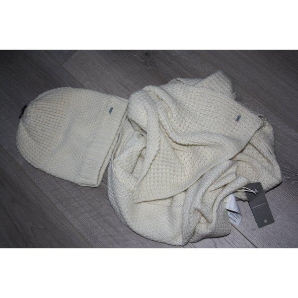 G-Star Raw Berretto bianco sporco Tessuto misto