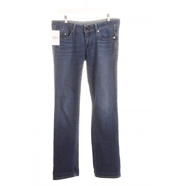 G-Star Raw Straight-Leg Jeans blau sportlicher Stil
