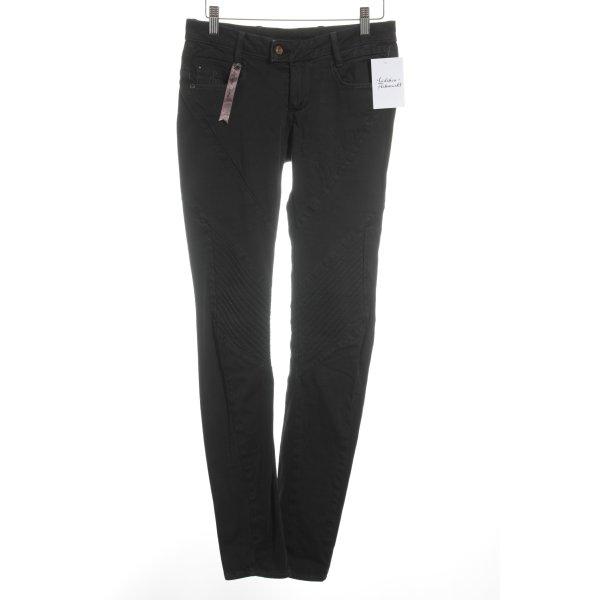 G-Star Drainpipe Trousers black street-fashion look