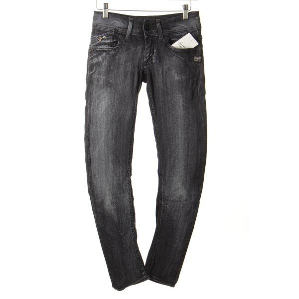 "G-Star Skinny Jeans ""Midge Cody Skinny"" grau"