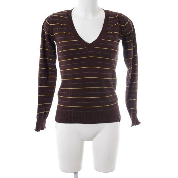 G-Star V-Ausschnitt-Pullover mehrfarbig Casual-Look