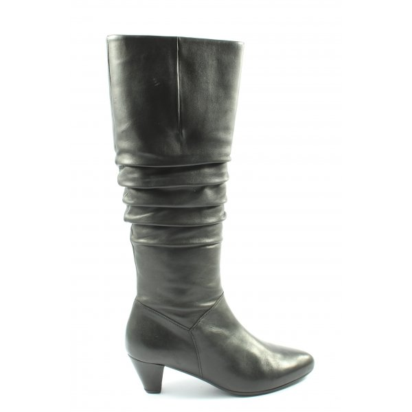 Gabor High Heel Stiefel schwarz Casual-Look