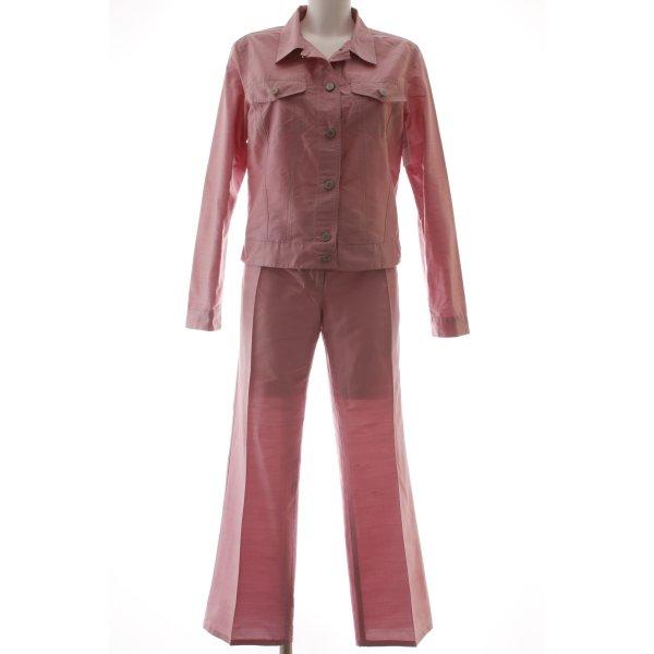 Gabriele Strehle Jeans Hosenanzug rosa Casual-Look
