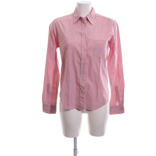 Gant Hemd-Bluse rot Streifenmuster Business-Look