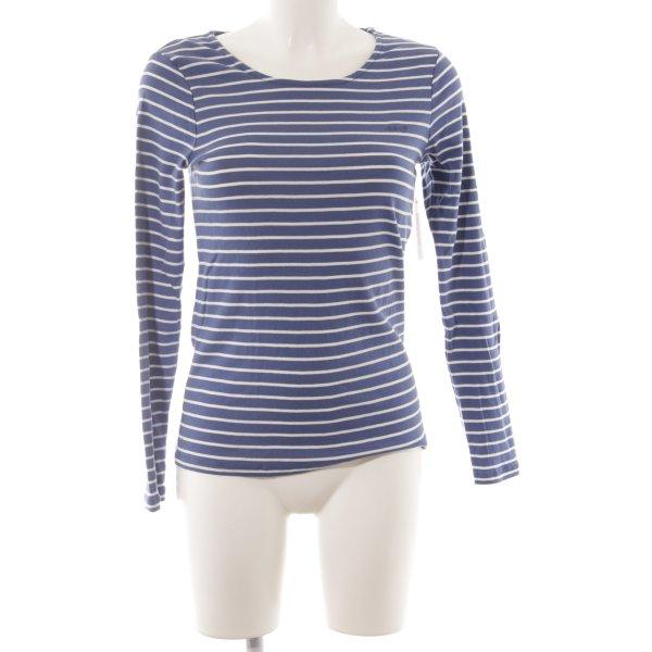 Gant Gestreept shirt wit-korenblauw gestreept patroon