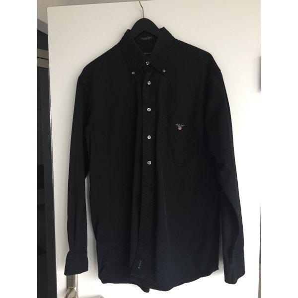 Gant schwarzes  Baumwollhemd