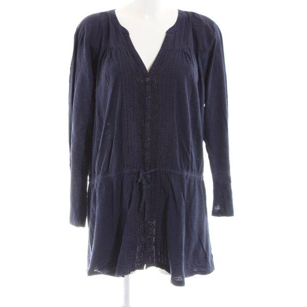 Gap Langarm-Bluse blau Casual-Look