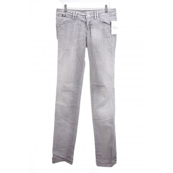 Gas Slim Jeans hellgrau Casual-Look