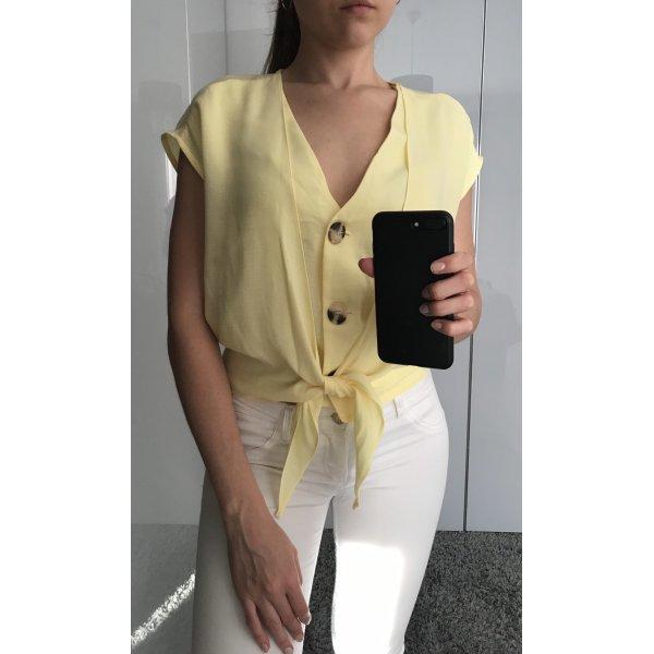 Gelbes Top/Bluse