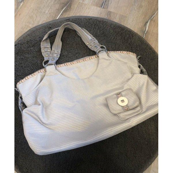 George Gina and Lucy Handtasche grau shopper beige Mode blogget Fashion