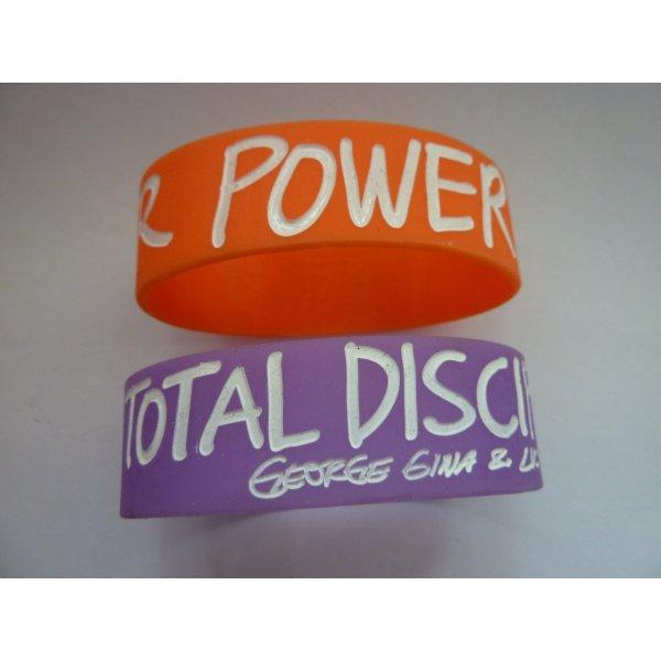 George Gina Lucy Power Beads Statement Armbänder lila orange Trendfarben Armband Set