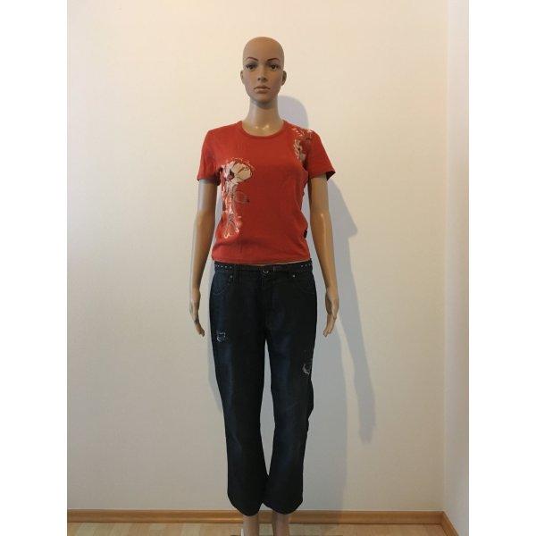 Geox 7/8 Length Jeans dark blue
