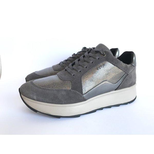 Geox Sneaker Gendry plateau taupe Gr.38