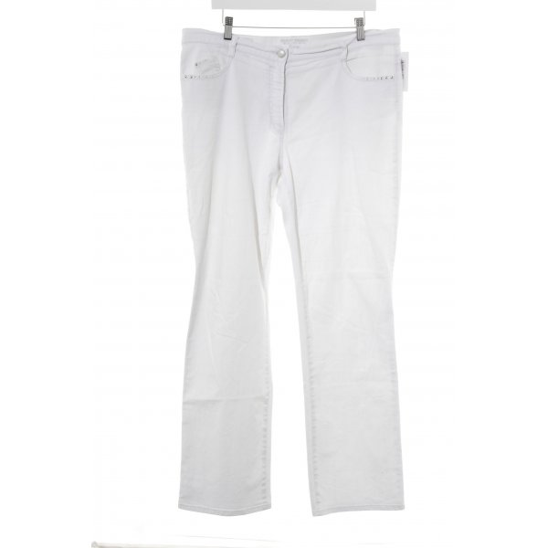 Gerry Weber Jeans svasati bianco sporco stile casual