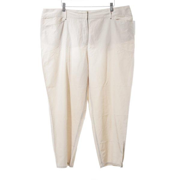Gerry Weber Pantalone jersey crema stile casual