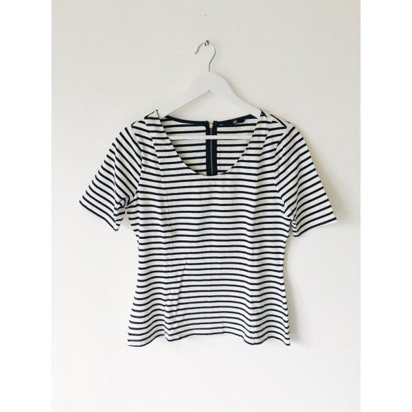 Gestreept shirt wit-zwart