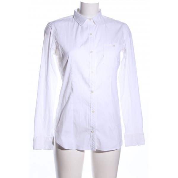 Giampaolo Hemd-Bluse weiß Business-Look