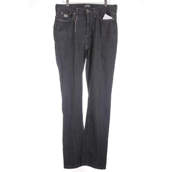 Gianfranco Ferré Straight-Leg Jeans schwarz Casual-Look