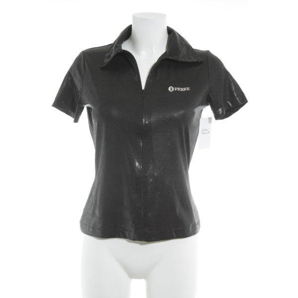 Gianfranco Ferré T-Shirt schwarz Punktemuster Casual-Look