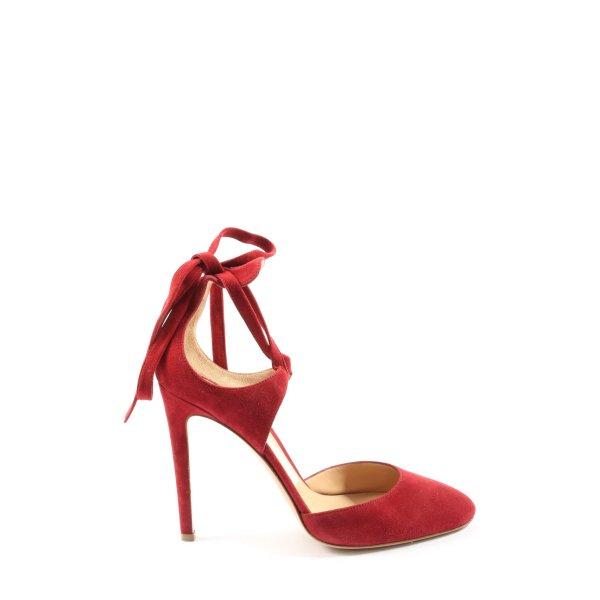 Gianvito rossi Hoge hakken sandalen rood elegant