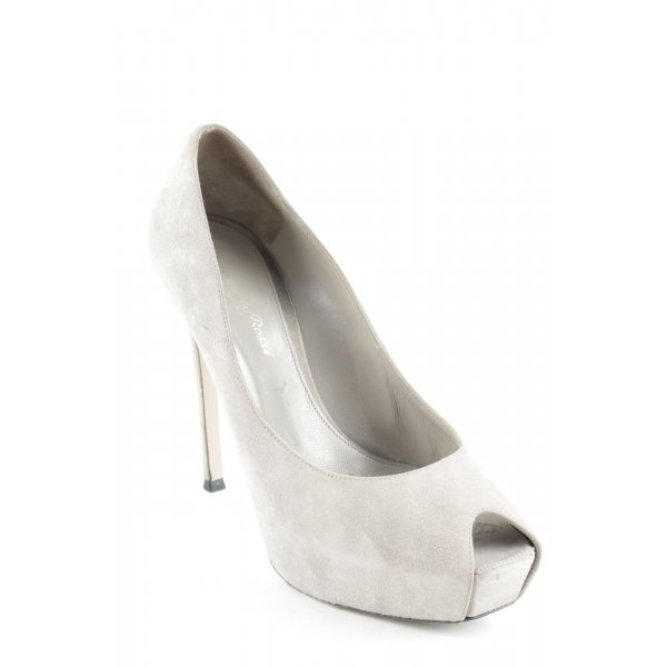 Gianvito rossi Plateau-Pumps beige Party-Look