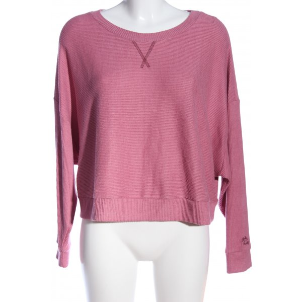 Gilly Hicks Rippshirt pink Casual-Look