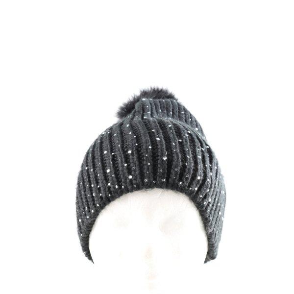 Gina Benotti Bobble Hat black casual look