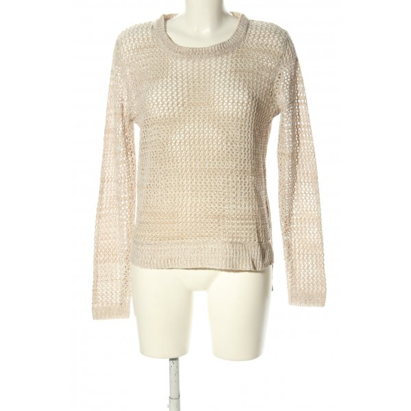Gina Tricot Grobstrickpullover creme Casual-Look