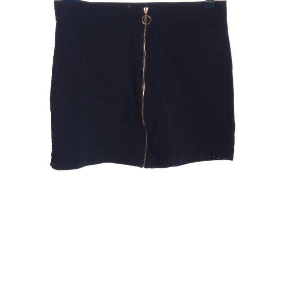 Gina Tricot Minirock blau Casual-Look
