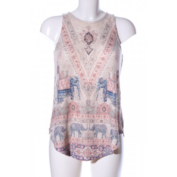 Ginger G Stricktop Mustermix Casual-Look