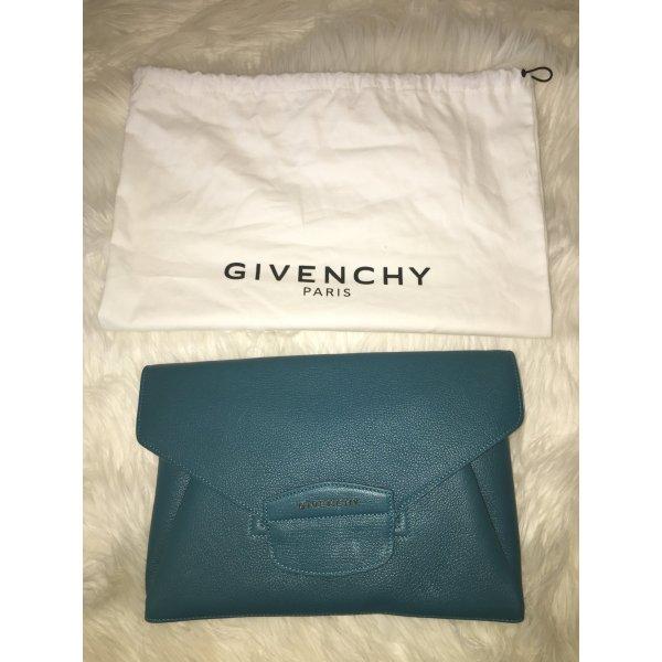 Givenchy Antigona Envelope Clutch Türkis Petrol High End Designer Bag