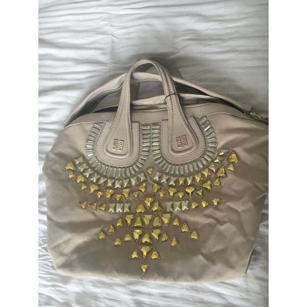 Givenchy Nightingale Tasche Sonderedition in beige nylon